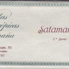 Fotografía antigua: SALAMANCA - VISTAS ESTEREOSCOPICAS DE ESPAÑA- COLECCION Nº 76 - 15 POSTALES (FOTOGRAFIA). Lote 180973110