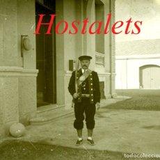 Fotografía antigua: ELS HOSTALETS DE BALENYÁ - QUINTA ROSARIO - 1920'S - POSITIU DE VIDRE. Lote 181403560