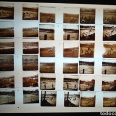 Fotografía antigua: COLECCIÓN 21 ESTEREOSCOPICAS EN POSITIVO DE CORRIDA DE TOROS TAUROMAQUIA. PP. S XX ESPAÑA. Lote 182020991