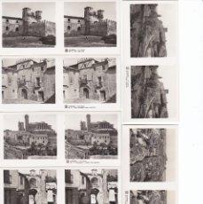 Fotografía antigua: SIGUENZA - VISTAS ESTEREOSCOPICAS DE ESPAÑA- COLECCION Nº 125 - 15 POSTALES (FOTOGRAFIA). Lote 182114107