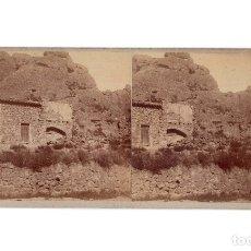 Fotografía antigua: HUESCA.- SAN ESTEBAN DE LITERA - BALCÓN DE PILATOS.. Lote 182259167