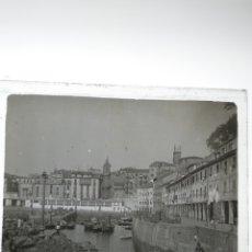 Fotografía antigua: PLACA ESTEREOSCÓPICA DE CRISTAL SAN SEBASTIÁN. SOBRE 1930.. Lote 182640701