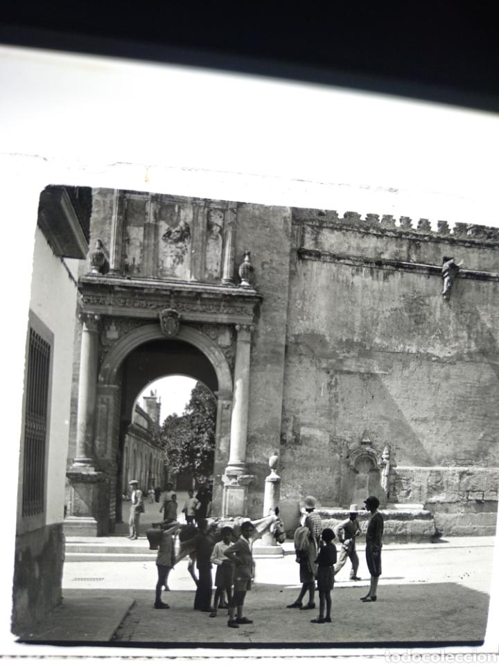 Fotografía antigua: Placa estereoscópica cristal Córdoba 1930 - Foto 2 - 182641167