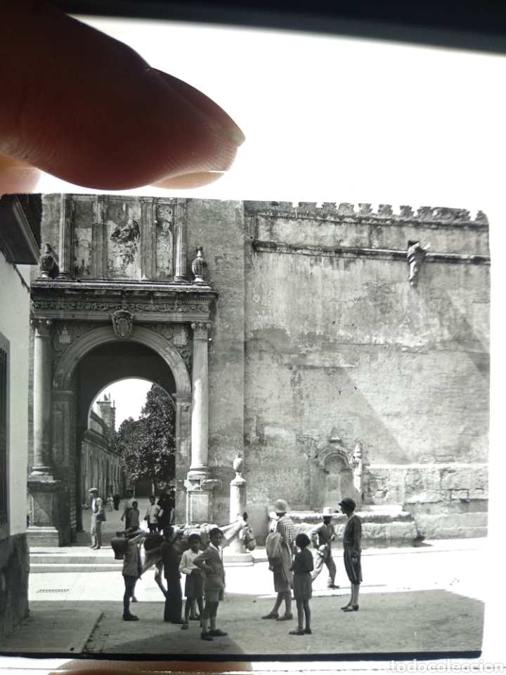 Fotografía antigua: Placa estereoscópica cristal Córdoba 1930 - Foto 4 - 182641167