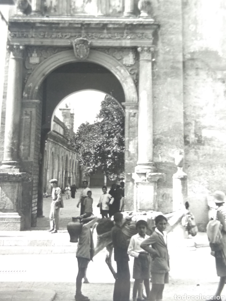 Fotografía antigua: Placa estereoscópica cristal Córdoba 1930 - Foto 5 - 182641167