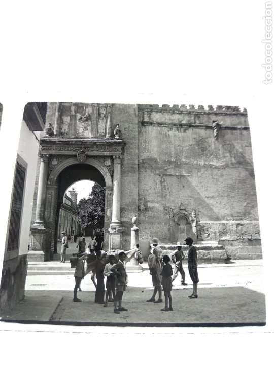 PLACA ESTEREOSCÓPICA CRISTAL CÓRDOBA 1930 (Fotografía Antigua - Estereoscópicas)