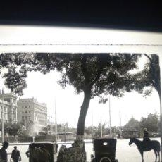 Fotografía antigua: PLACA ESTEREOSCOPICA EN POSITIVO MADRID 1930. Lote 182763985