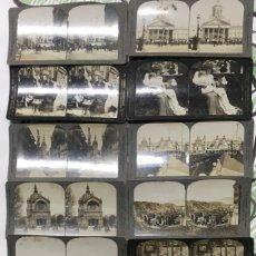 Fotografía antigua: LOTE DE 14 ESTEREOSCOPICA.PARIS, LIVERPOOL,SAN FRANCISCO, MADRID ETC. VER FOTOS ANEXAS.. Lote 183076983