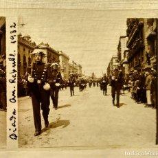 Fotografia antica: GUARDIA CIVIL DESFILE BARCELONA ANIVERSARIO REPUBLICA ESPAÑOLA 1932 - NEGATIVO DE VIDRIO. Lote 183168848