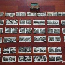 Fotografía antigua: VISOR ESTEREOSCOPICO IMPERIAL NIG + 2 SERIES COMPLETAS DE FOTOGRAFIAS ESTEREOSCOPICAS + 8 FOTOS. Lote 183769087