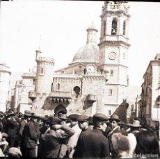 Fotografía antigua: ALCOY NEGATIVO DE CRISTAL FIESTAS. Lote 183922601