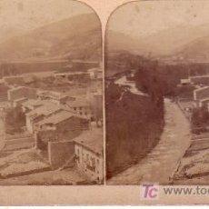 Fotografía antigua: 2 ESTEROSCÓPICAS DE CAMPRODÓN. GIRONA. Lote 184697271