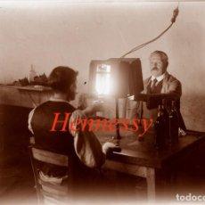 Fotografía antigua: BODEGAS - COGNAC - HENNESSY - FRANCIA - 1922 - NEGATIVO DE VIDRIO GRAN FORMATO. Lote 184697780