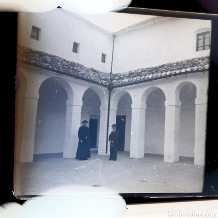 Fotografía antigua: Placa estereoscopica Negativo en cristal. Doble imagen. Hermandad Gran Poder Sevilla - Foto 2 - 185773856