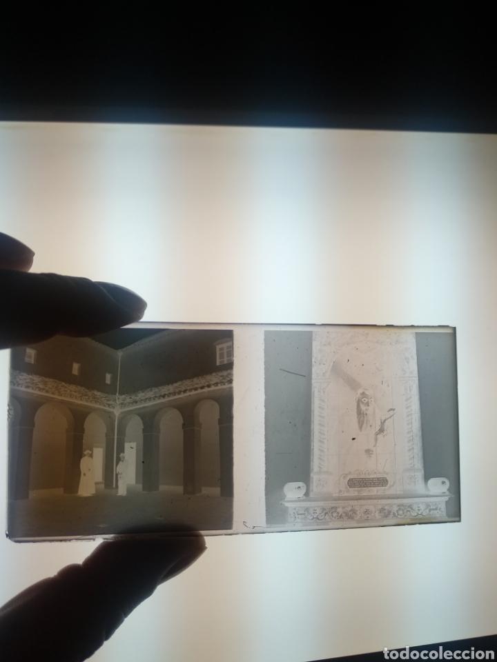 Fotografía antigua: Placa estereoscopica Negativo en cristal. Doble imagen. Hermandad Gran Poder Sevilla - Foto 4 - 185773856
