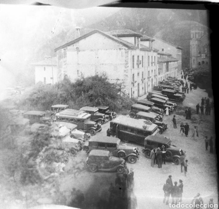 Fotografía antigua: Antiguas 3 Placas estereoscópicas cristal Negativo Covadonga Asturias - Foto 2 - 185785795