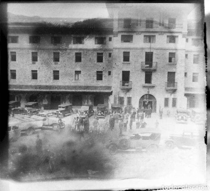 Fotografía antigua: Antiguas 3 Placas estereoscópicas cristal Negativo Covadonga Asturias - Foto 4 - 185785795