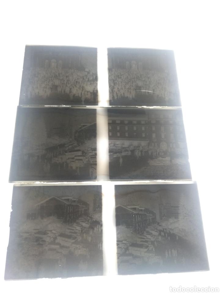 Fotografía antigua: Antiguas 3 Placas estereoscópicas cristal Negativo Covadonga Asturias - Foto 7 - 185785795