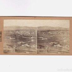 Fotografía antigua: BARCELONA - DENTRO MURALLA, SANT ANTONI. 1858 APROX. GAUDIN ED. Nº 260. 8X16 CM.. Lote 187148318
