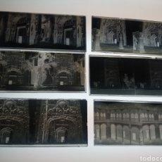 Fotografía antigua: 6 PLACAS CRISTAL ESTEREOSCOPICAS EN NEGATIVO VALLADOLID 1927. Lote 189730580