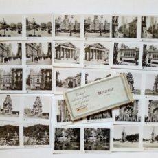 Fotografía antigua: MADRID (5ª SERIE) - VISTAS ESTEREOSCÓPICAS DE ESPAÑA - COLECCIÓN Nº 133, DE 15 FOTOGRAFÍAS - AÑOS 30. Lote 190586010