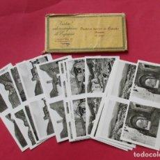 Fotografía antigua: 15 VISTAS ESTEREOSCÓPICAS DE ESPAÑA. PUEBLOS TÍPICOS DE ESPAÑA. HUESCA, 4ª SERIE.6 X 13 CM.. Lote 191704091
