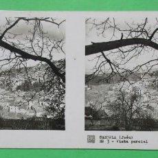 Fotografía antigua: VISTA ESTEREOSCÓPICA. CAZORLA, JAÉN. Nº 3. VISTA PARCIAL. 6 X 13 CM.. Lote 191704753