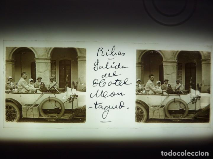 FOTO POSITIVO EN CRISTAL ANTIGUO RIBAS DE FRESER . (Fotografía Antigua - Estereoscópicas)