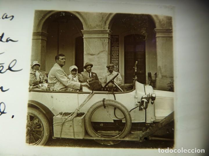Fotografía antigua: FOTO POSITIVO EN CRISTAL ANTIGUO RIBAS DE FRESER . - Foto 3 - 192910148