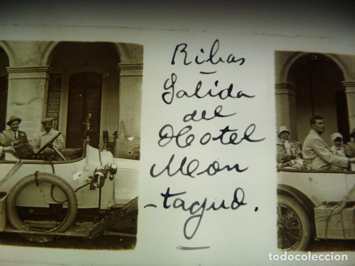 Fotografía antigua: FOTO POSITIVO EN CRISTAL ANTIGUO RIBAS DE FRESER . - Foto 4 - 192910148