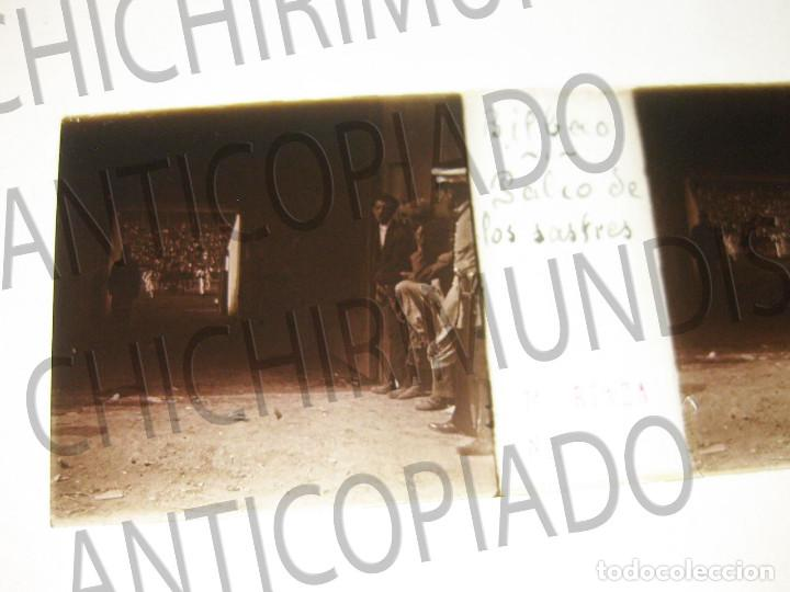 Fotografía antigua: Lote de 17 placas estereoscópicas de Bilbao. Animadas. Fotógrafo M. Riaza. - Foto 3 - 194073763