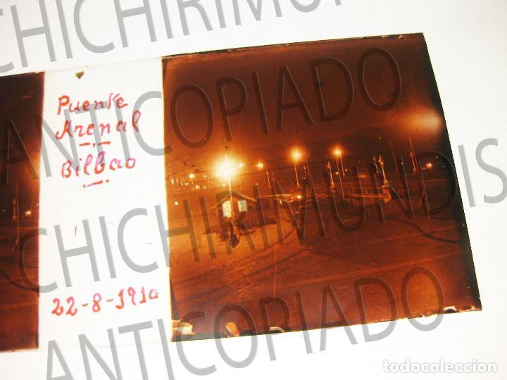 Fotografía antigua: Lote de 17 placas estereoscópicas de Bilbao. Animadas. Fotógrafo M. Riaza. - Foto 10 - 194073763