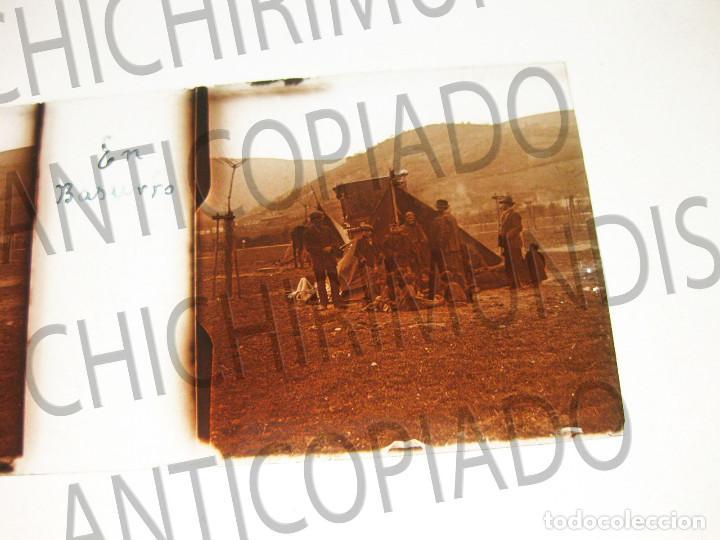 Fotografía antigua: Lote de 17 placas estereoscópicas de Bilbao. Animadas. Fotógrafo M. Riaza. - Foto 15 - 194073763