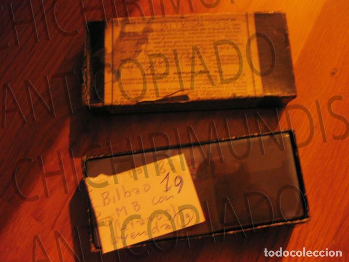 Fotografía antigua: Lote de 17 placas estereoscópicas de Bilbao. Animadas. Fotógrafo M. Riaza. - Foto 30 - 194073763