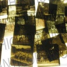Fotografía antigua: LOTE DE 11 PLACAS ESTEREOSCÓPICAS DE ARCHENA, MURCIA. TIPOS POPULARES. PRINCIPIOS SIGLO XX.. Lote 194074053