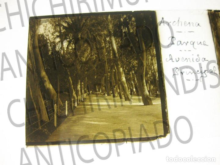 Fotografía antigua: Lote de 11 placas estereoscópicas de Archena, Murcia. Tipos populares. Principios siglo XX. - Foto 15 - 194074053