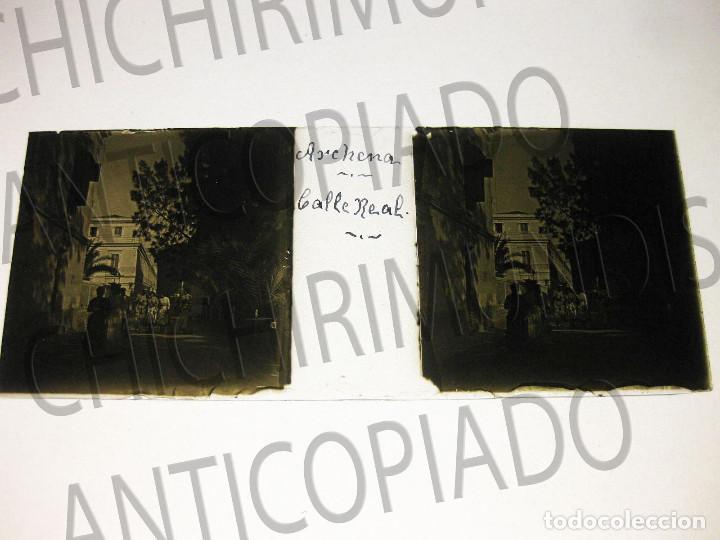 Fotografía antigua: Lote de 11 placas estereoscópicas de Archena, Murcia. Tipos populares. Principios siglo XX. - Foto 19 - 194074053