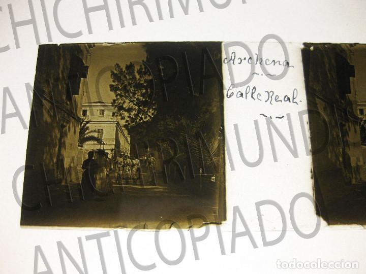Fotografía antigua: Lote de 11 placas estereoscópicas de Archena, Murcia. Tipos populares. Principios siglo XX. - Foto 20 - 194074053