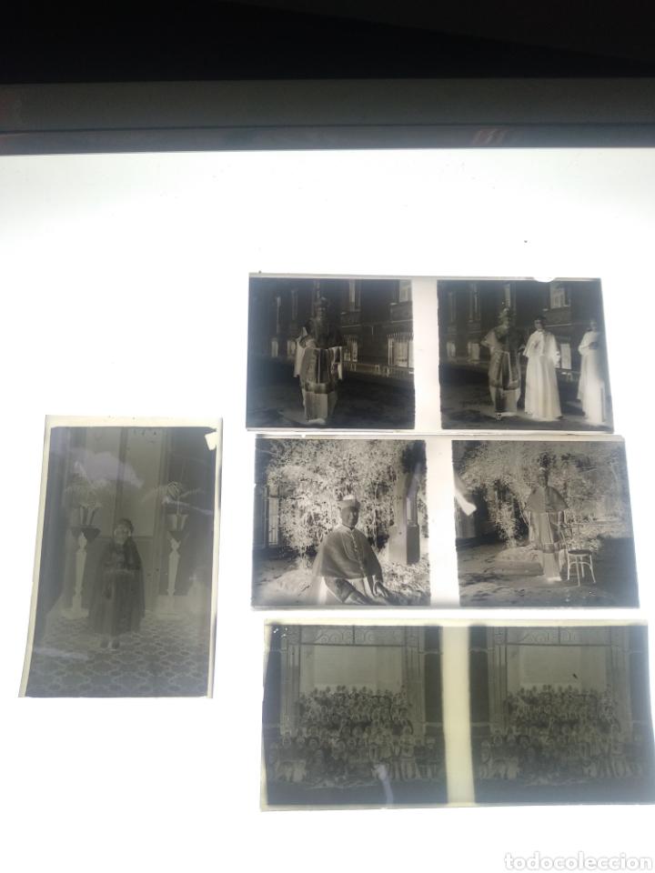 LOTE DE PLACAS ESTEREOSCOPICAS DE CRISTAL Y CELULOIDE ANOS 1930-40 MÁLAGA (Fotografía Antigua - Estereoscópicas)