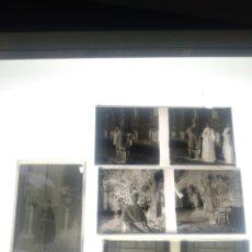 Fotografía antigua: LOTE DE PLACAS ESTEREOSCOPICAS DE CRISTAL Y CELULOIDE ANOS 1930-40 MÁLAGA. Lote 194325737