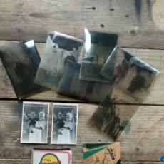 Fotografía antigua: LOTE 30 NEGATIVOS ANTIGUOS FAMILIARES. Lote 194511433
