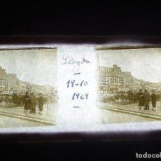 Fotografía antigua: FOTO ANTIGUA EN PLACA DE CRISTAL ESTEREOSCOPICA LERIDA. 1929.. Lote 194679715