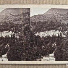 Fotografía antigua: CA. 1858. VOYAGE DANS LES PYRENEES - LUZ-SAINT SAUVEUR - FURNE FILS & H. TOURNIER / PIRINEOS. Lote 195091843