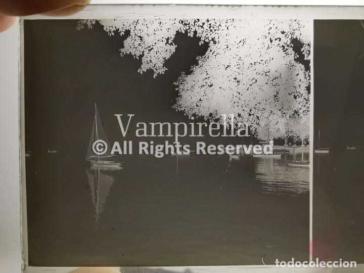 Fotografía antigua: Lote negativos estereoscópicos de cristal. Rosas. Cadaqués Costa Brava.. Circa 1900-30 - Foto 5 - 195126475