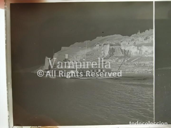 Fotografía antigua: Lote negativos estereoscópicos de cristal. Rosas. Cadaqués Costa Brava.. Circa 1900-30 - Foto 8 - 195126475