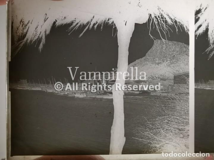 Fotografía antigua: Lote negativos estereoscópicos de cristal. Rosas. Cadaqués Costa Brava.. Circa 1900-30 - Foto 9 - 195126475