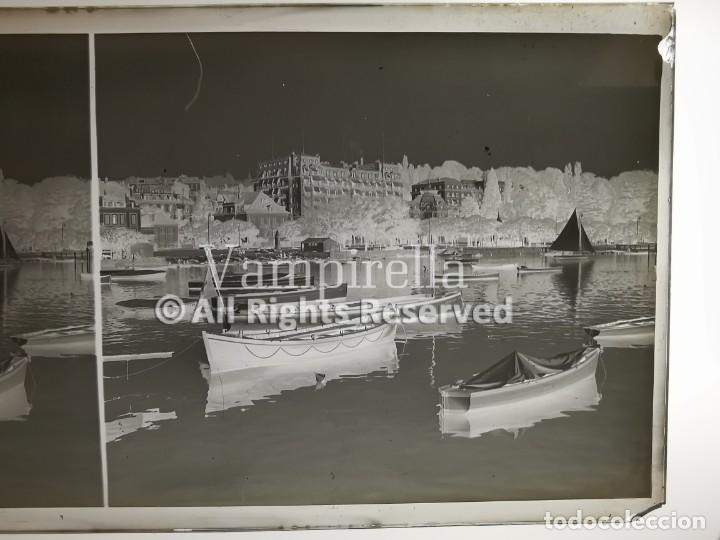 Fotografía antigua: Lote negativos estereoscópicos de cristal. Rosas. Cadaqués Costa Brava.. Circa 1900-30 - Foto 12 - 195126475