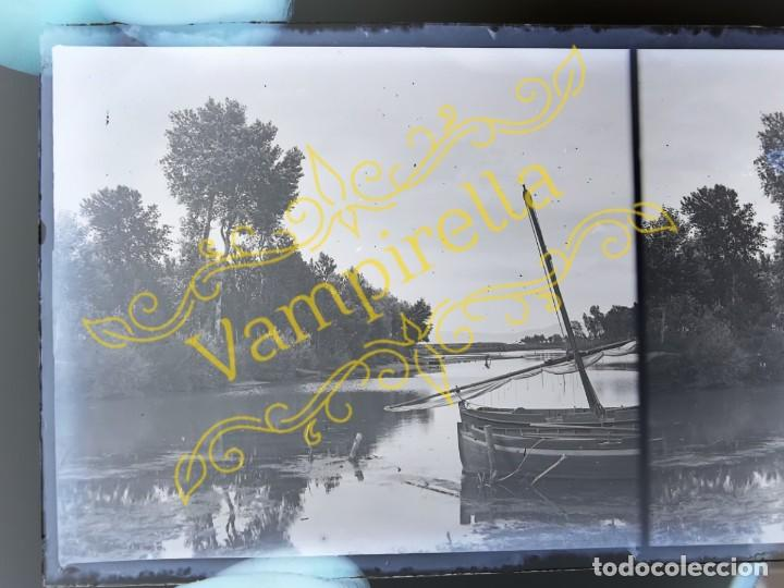 Fotografía antigua: Lote negativos estereoscópicos de cristal. Rosas. Cadaqués Costa Brava.. Circa 1900-30 - Foto 14 - 195126475
