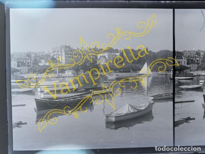 Fotografía antigua: Lote negativos estereoscópicos de cristal. Rosas. Cadaqués Costa Brava.. Circa 1900-30 - Foto 15 - 195126475