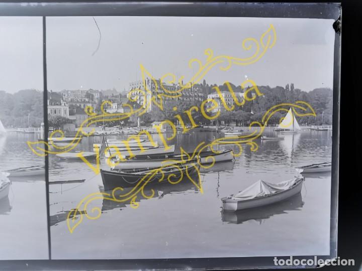 Fotografía antigua: Lote negativos estereoscópicos de cristal. Rosas. Cadaqués Costa Brava.. Circa 1900-30 - Foto 16 - 195126475